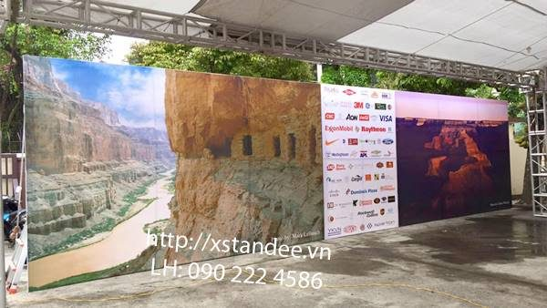 backdrop ngoai troi