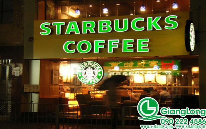 bển quảng cáo cà phê