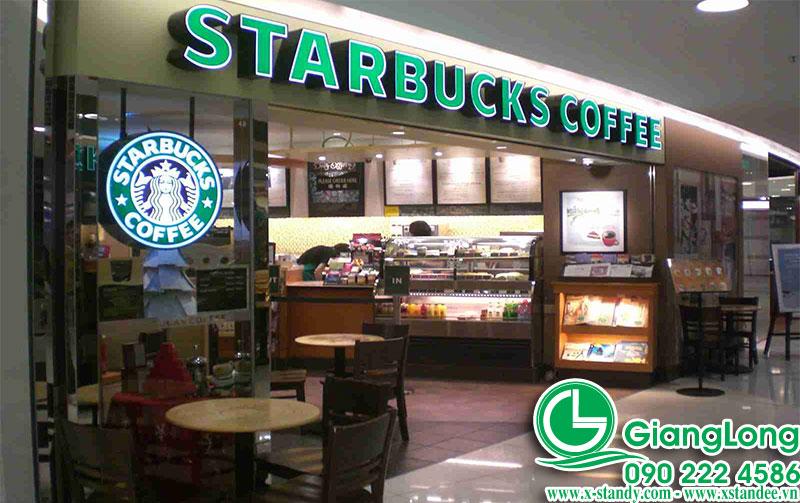 Biển hiệu cafe