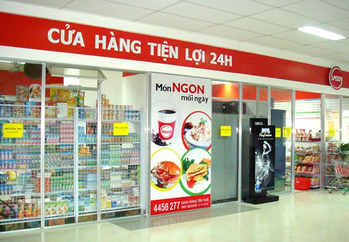 Biển hiệu quảng cáo cửa hàng tạp hóa