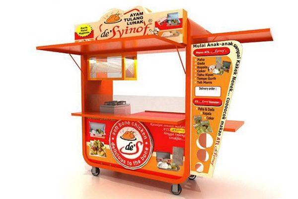 booth bán hàng