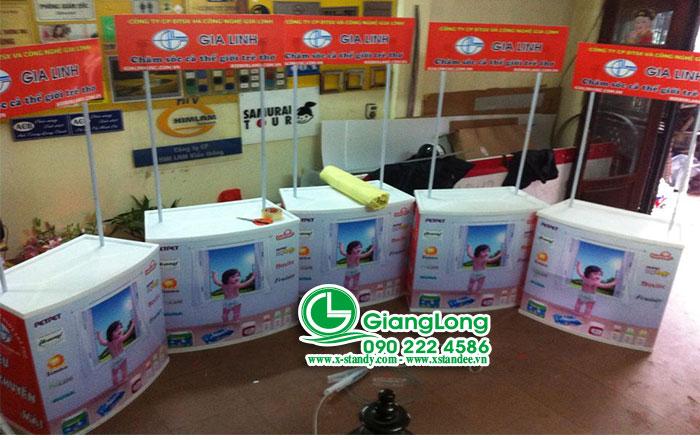 booth sampling tại Hà Nội