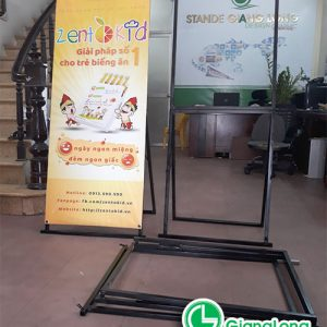 Standee Khung Sat